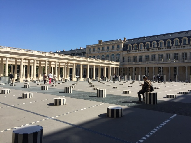 Palais-Royal. Paris, France. © Jewel K. Goode, 2015. All Rights Reserved.