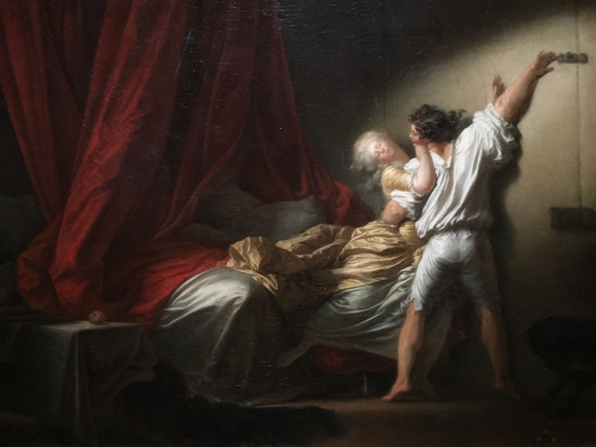 Jean-Honoré Fragonard, Le Verrou (1775). Photo © Jewel K. Goode, 2015. All Rights Reserved.