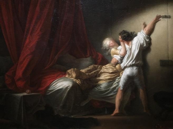 Jean-Honoré Fragonard, Le Verrou (1775). Photo © Jewel K. Goode, 2015. All Rights Reserved.
