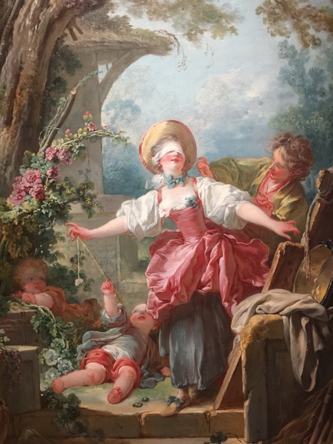 Jean-Honoré Fragonard, Le Colin-Maillard (1754). Photo © Jewel K. Goode, 2015. All Rights Reserved.