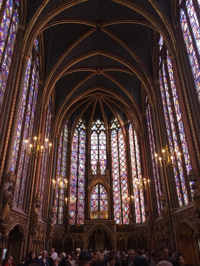 Sainte-Chapelle. Paris, France. © Jewel K. Goode, 2015. All Rights Reserved.