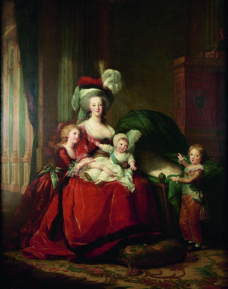 Marie Antoinette et ses enfants Grand Palais