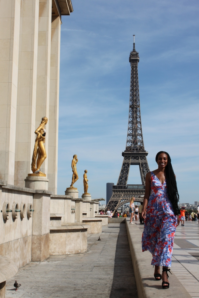 Jewel K. Goode in Paris, France