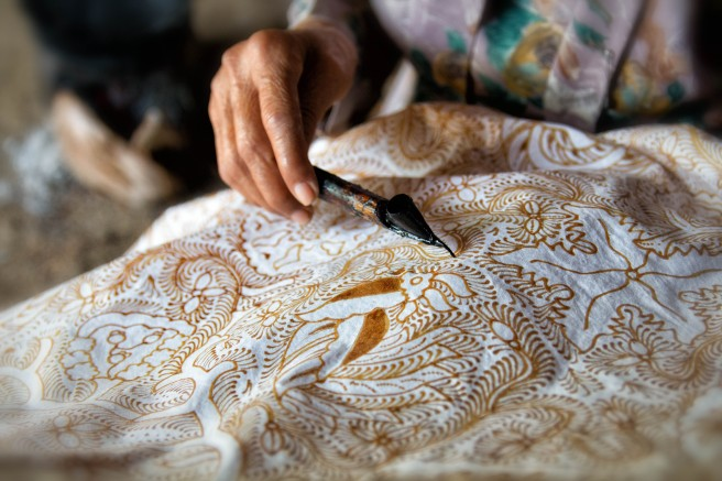 Silk Roads: Traditional Batik by Jewel K. Goode